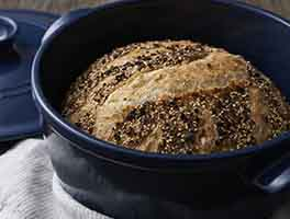 No-Knead Everything Bread