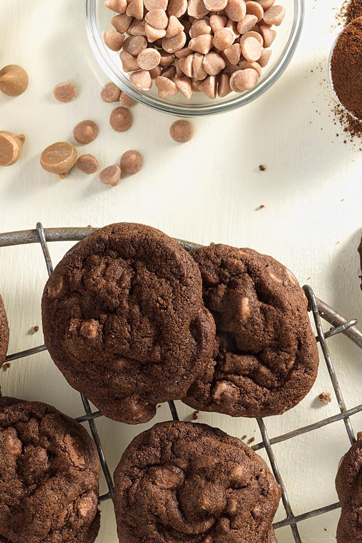 Double-Dark Mocha Drops Recipe