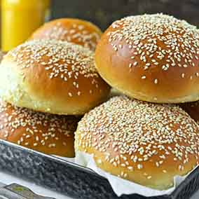 Beautiful Burger Buns