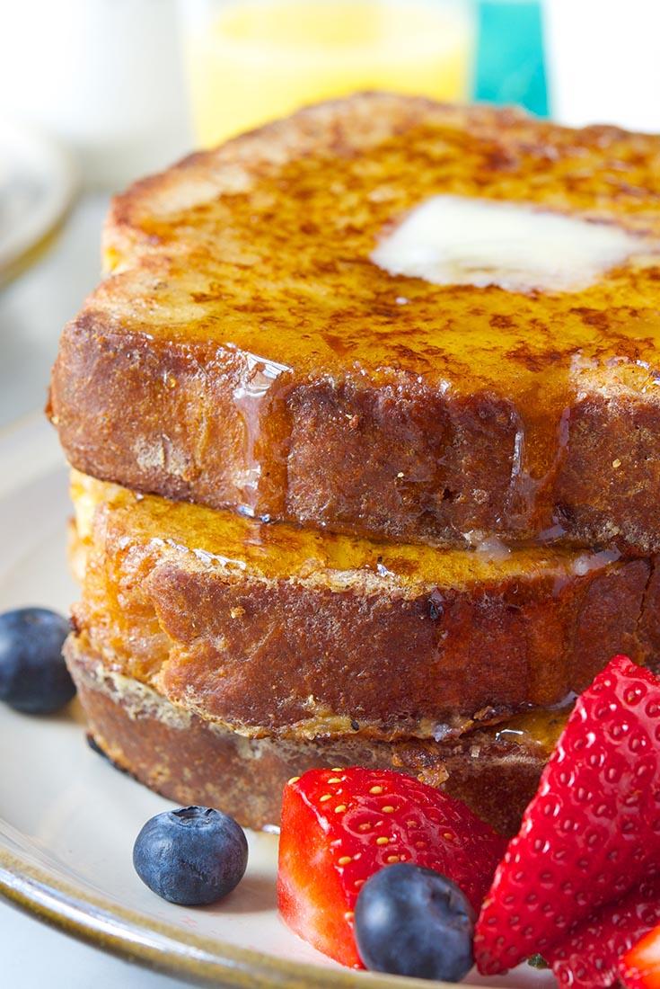 Brioche French Toast Recipe King Arthur Flour