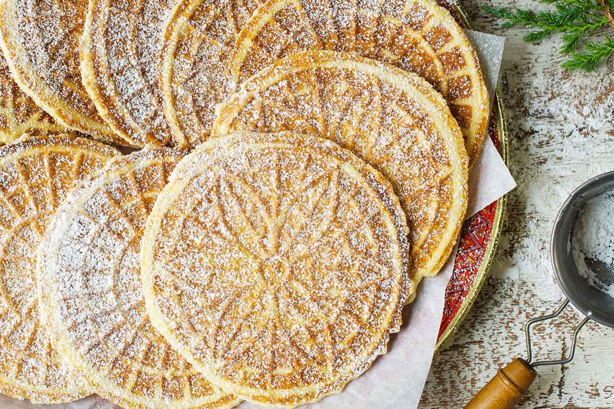 Classic Pizzelle Recipe King Arthur Flour