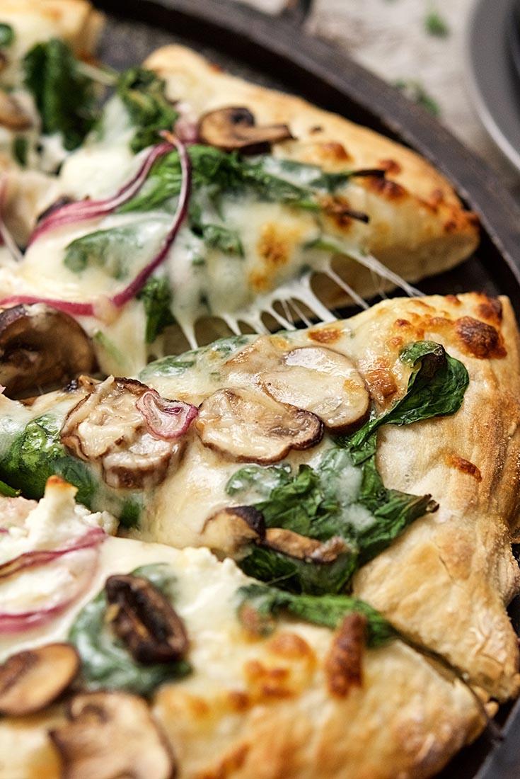 No-Knead Pizza Crust Recipe