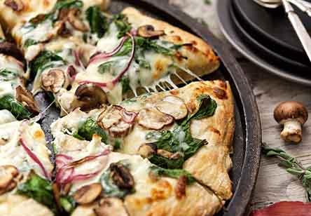 No-Knead Pizza Crust