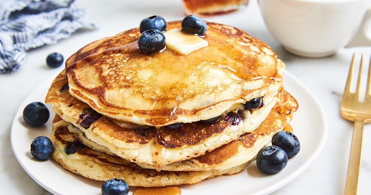 Blueberry Pancakes Recipe King Arthur Flour