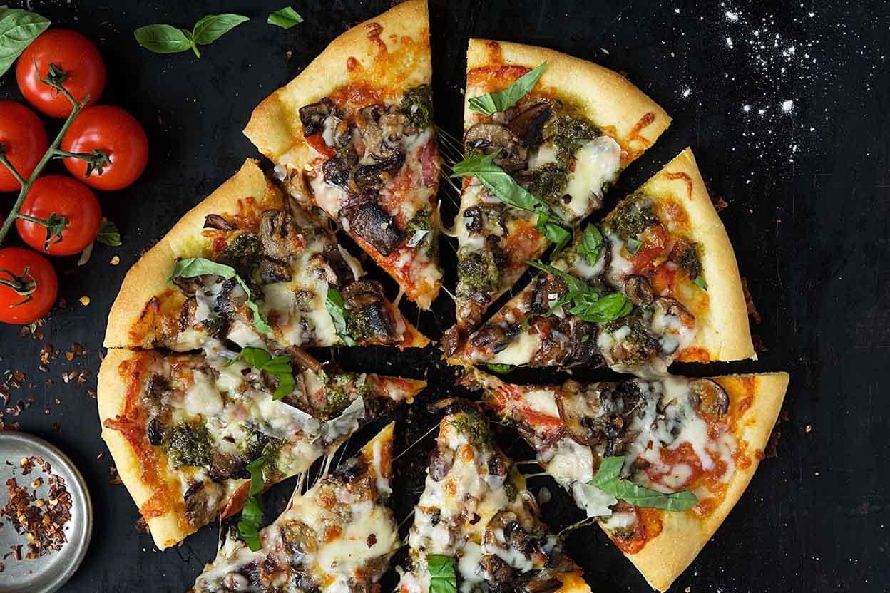 pizza dough gluten free recipe  »  7 Photo »  Awesome ..!