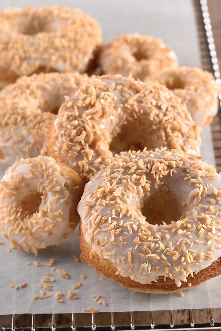 Coconut Doughnuts  Recipe