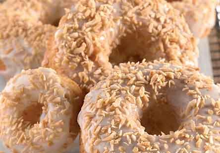 Coconut Doughnuts