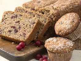 Cranberry-Walnut Bread & Muffins