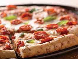 Flax Seed Pizza Crust