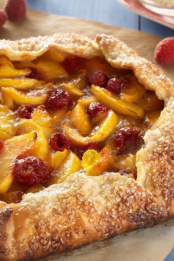 Rustic Peach Tart   Recipe
