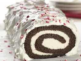 Gluten-Free Chocolate Yule Log