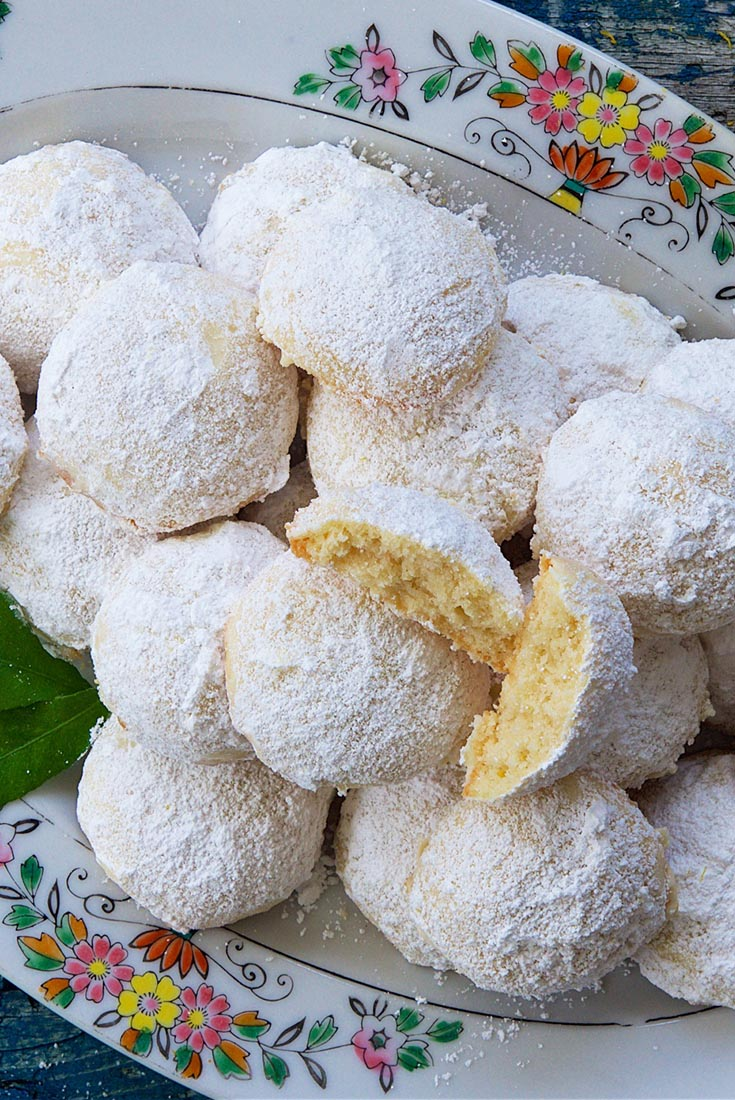 Lemon Snowball Cookies  Recipe