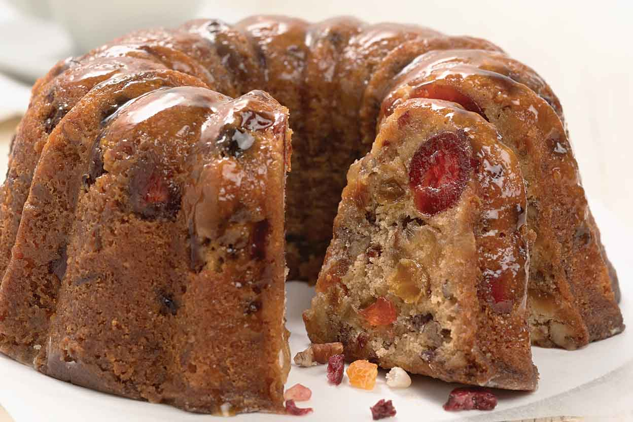 Brown Butter Walnut Cake