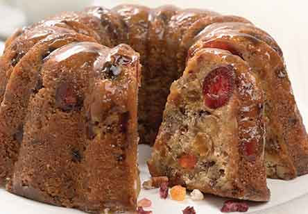 Butter-Rum Walnut Cake