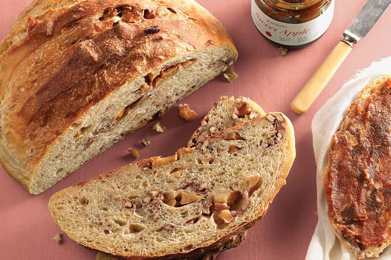 Roasted Apple Bread Recipe | King Arthur Flour