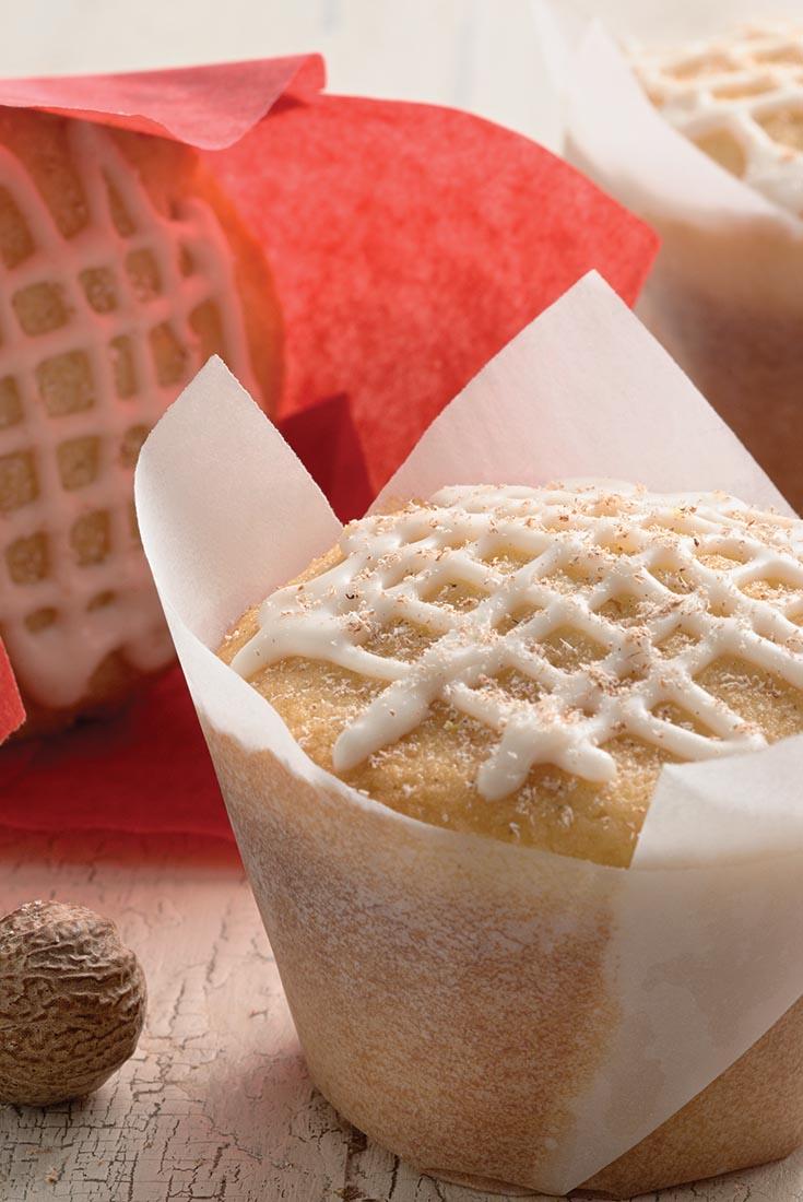 Golden Eggnog Cupcakes Recipe