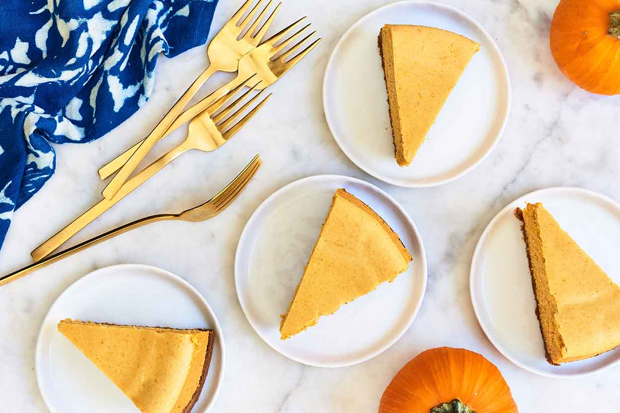 Pumpkin Cheesecake With Gingersnap Crust Recipe King