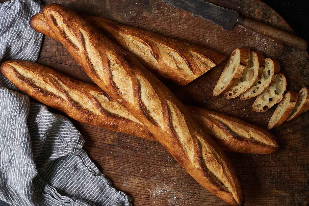 Sourdough Baguettes Recipe King Arthur Flour