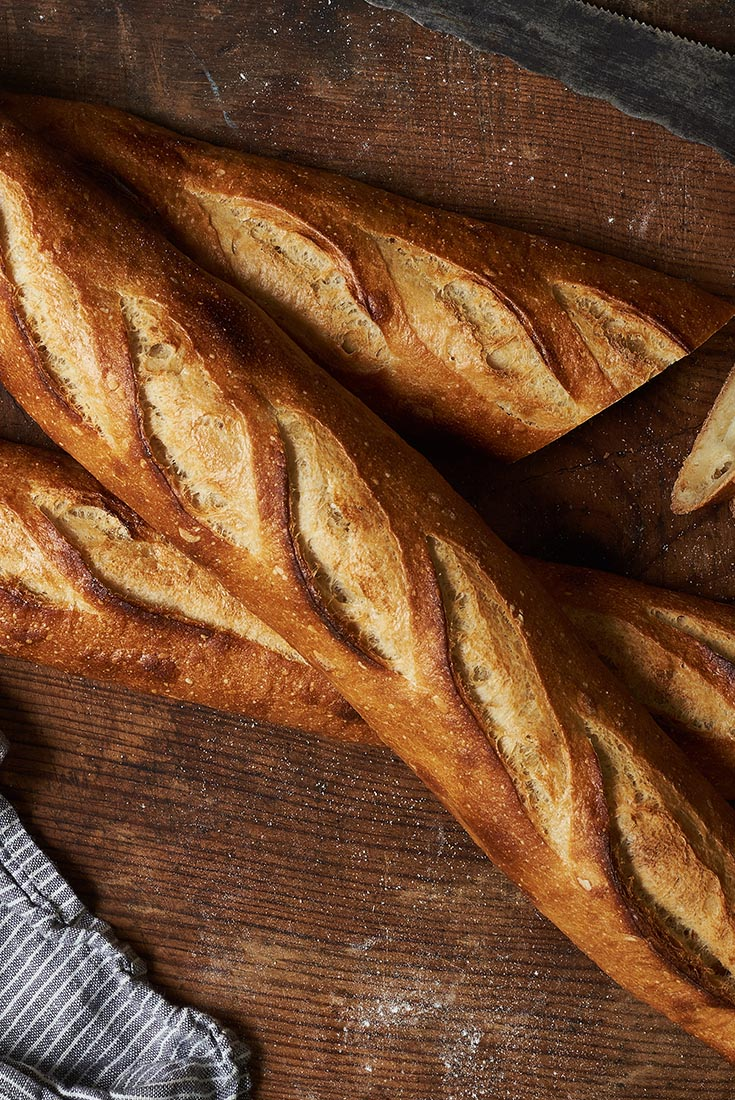 Sourdough Baguettes Recipe