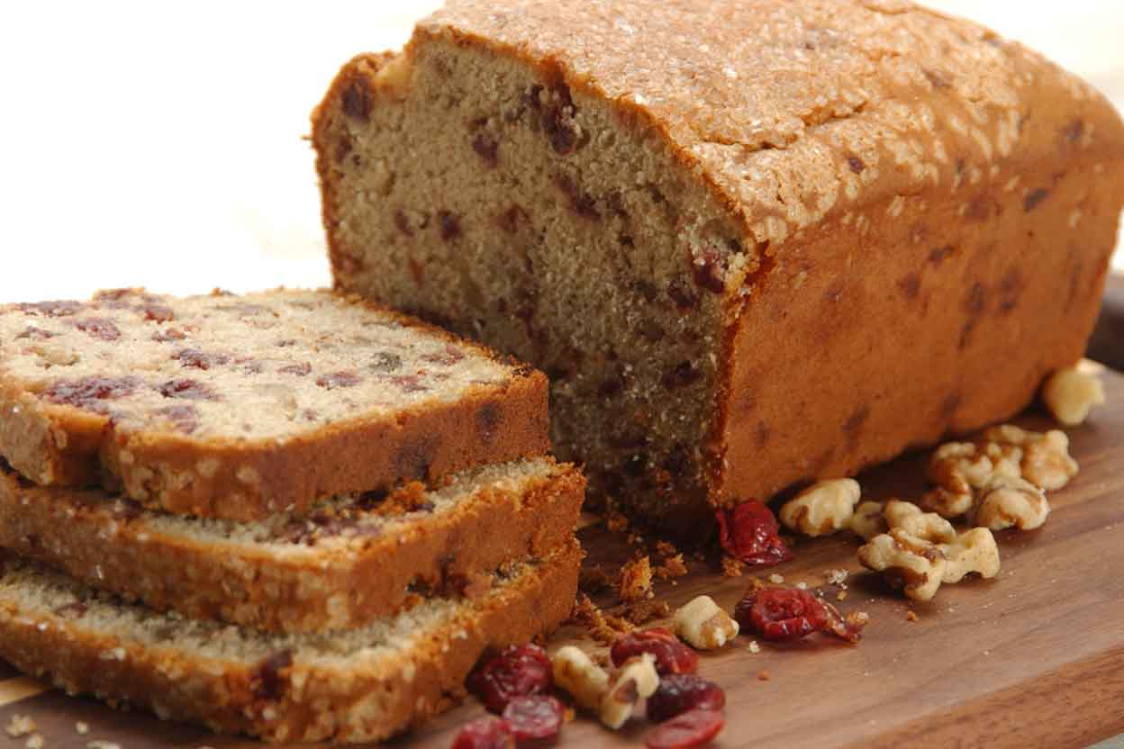 Gluten-Free Cranberry-Orange Bread with Sorghum Recipe | King Arthur ...