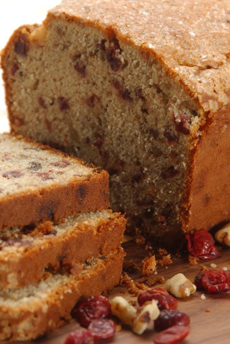 Gluten-Free Cranberry-Orange Bread with Sorghum Recipe
