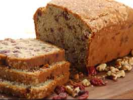 Gluten-Free Cranberry-Orange Bread with Sorghum