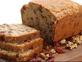 Gluten-Free Cranberry-Orange Bread with Sorghum