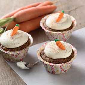 King Arthur's Carrot Cake Cupcakes