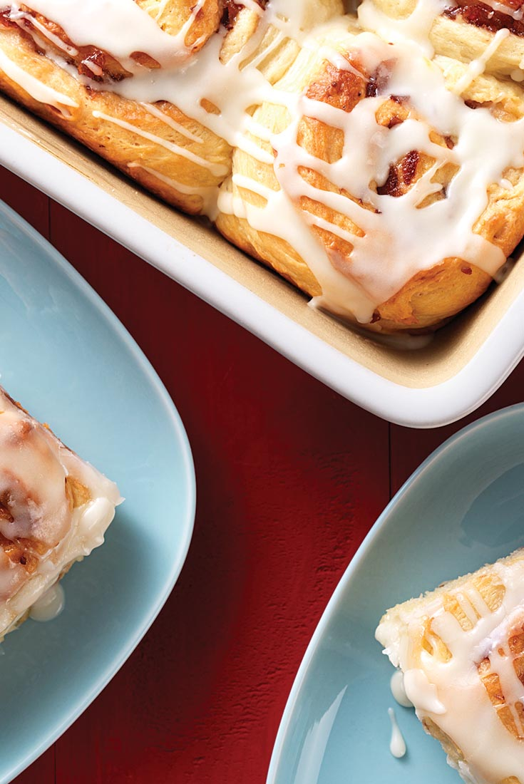 Cream Cheese Cinnamon Buns Recipe