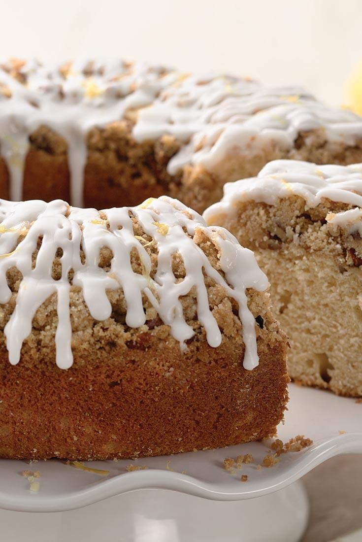 Lemon Streusel Coffeecake Recipe