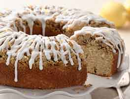 Lemon Streusel Coffeecake