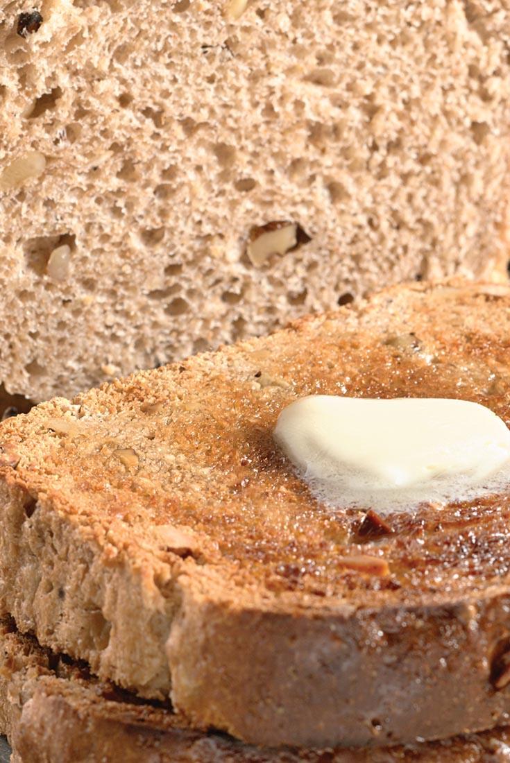 Maple-Walnut Oat Bread Recipe | King Arthur Flour