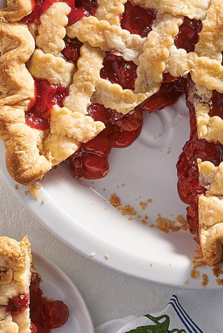 Mr. Washington's Cherry Pie Recipe