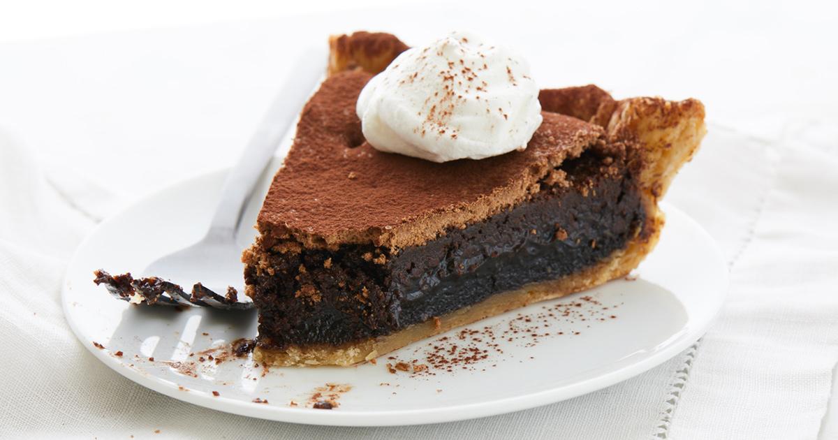 Chocolate Midnight Pie Recipe King Arthur Flour