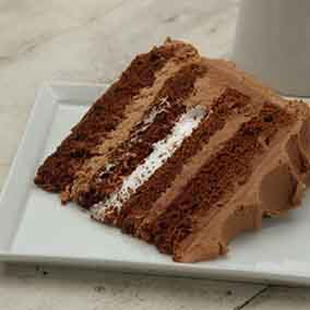 Milk Chocolate Layer Cake