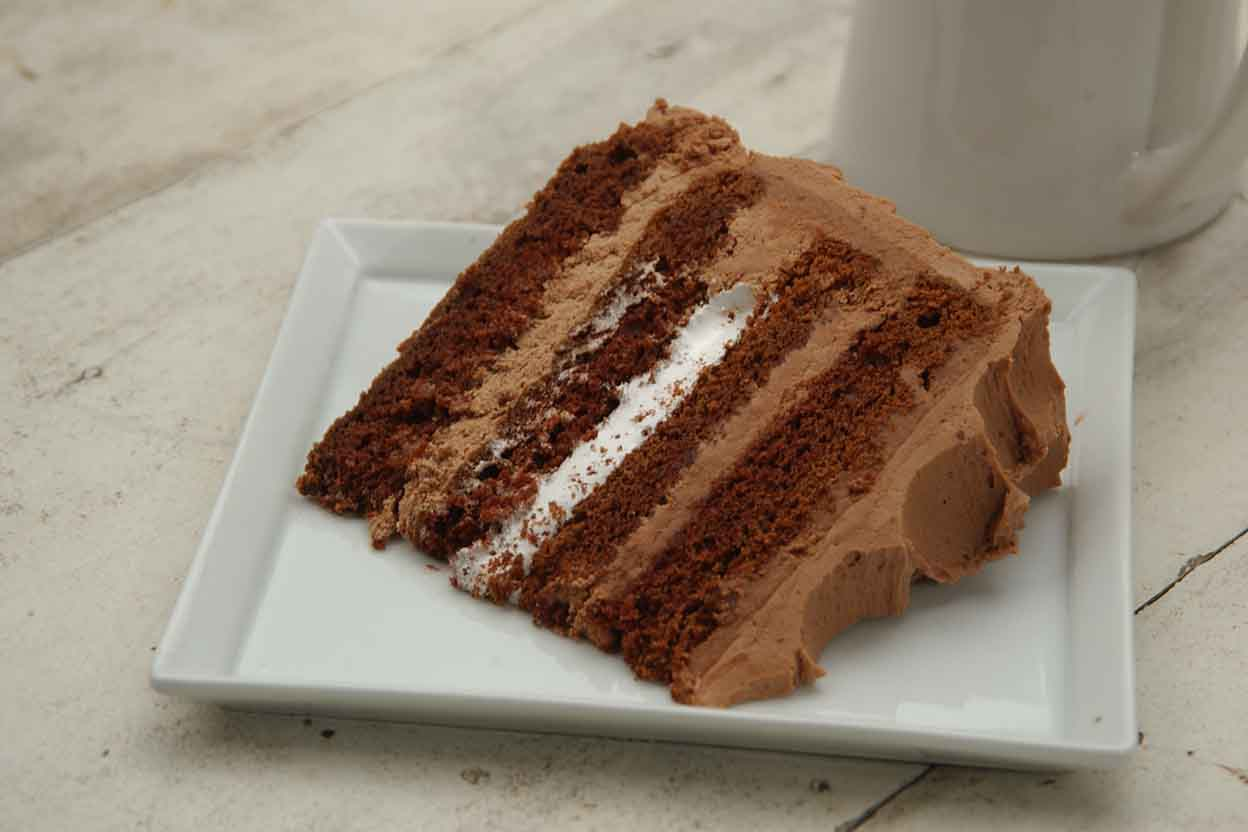 Good Layered Cake Recipes: Milk Chocolate Layer Cake Recipe