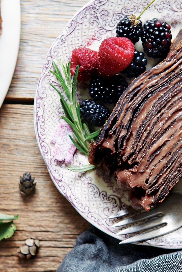 Chocolate Crêpe Cake Recipe
