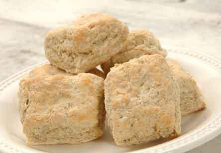 Tender Rye Biscuits