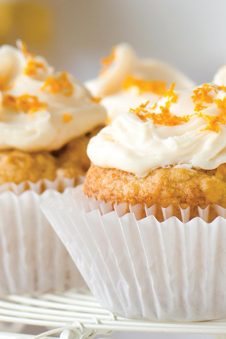 Vegan Clementine Cupcakes Recipe