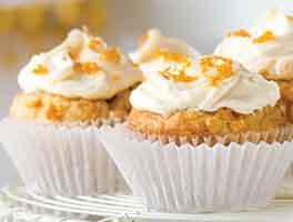 Vegan Clementine Cupcakes