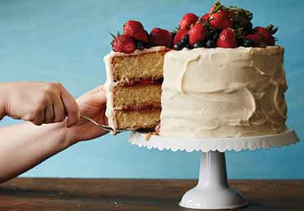 Vanilla Trifle Cake