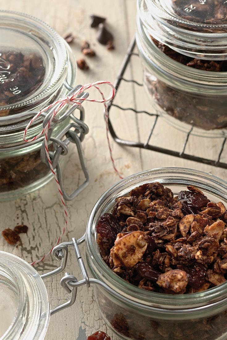 Chocolate and Cherry Granola Recipe