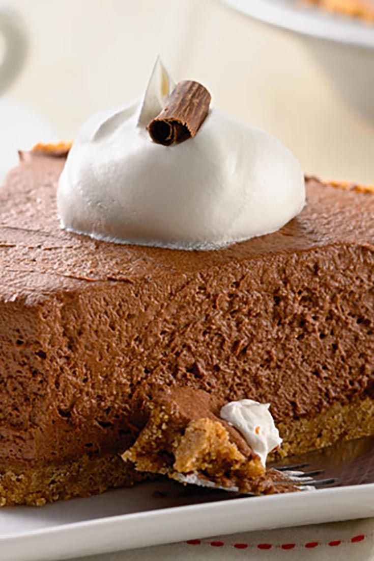 Chocolate Icebox Pie Recipe