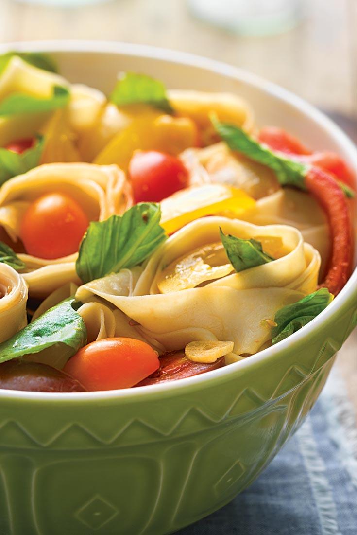 Heirloom Tomato and Fresh Pasta Salad Recipe