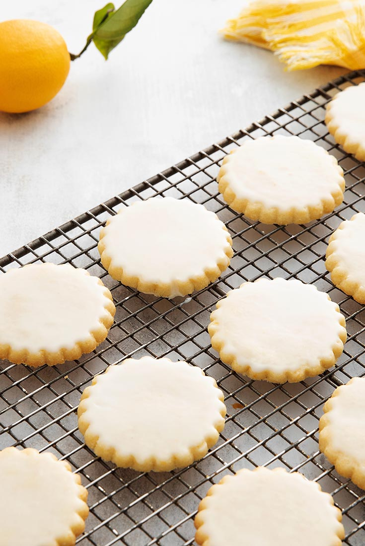 Lemon Sablé Cookies Recipe