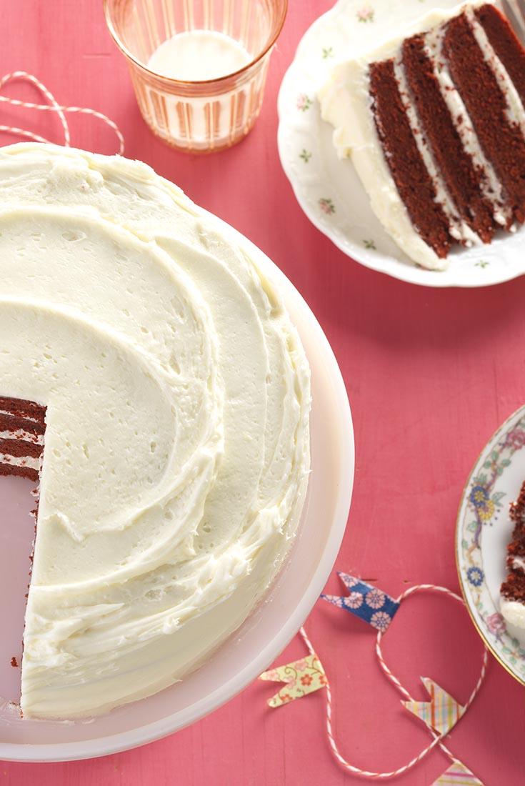 Gluten-Free Red Velvet Cake Recipe