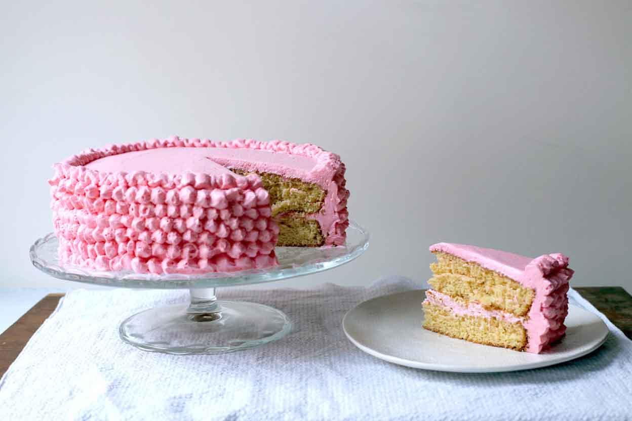 Cake Recipe King Arthur Flour: Citrus Surprise Grapefruit Cake Recipe