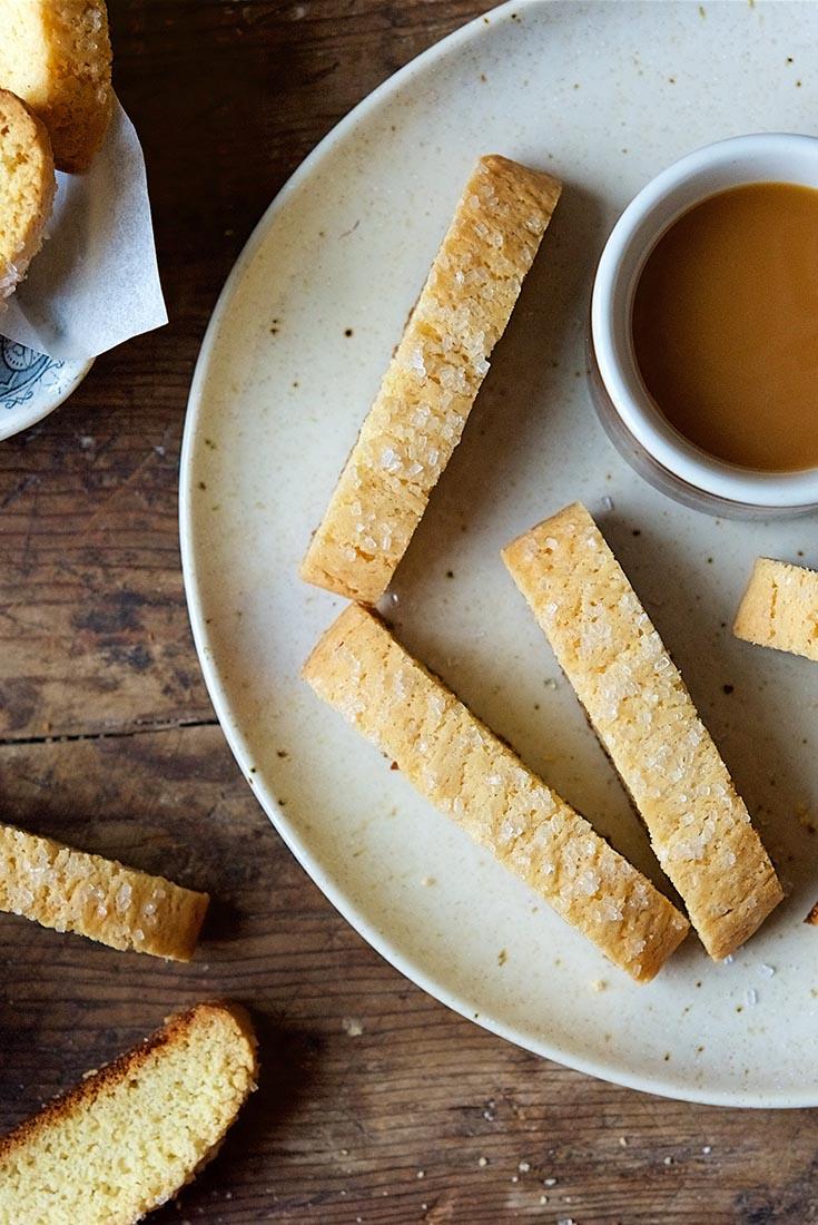 American-Style Vanilla Biscotti Recipe