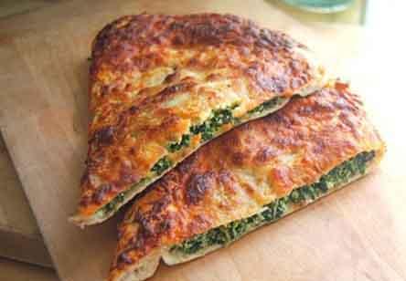 Spinach-Ricotta Calzone