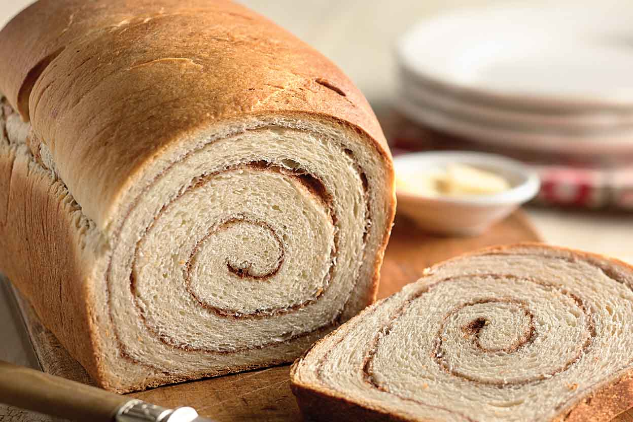 100% Whole Wheat Cinnamon Swirl Bread Recipe | King Arthur Flour